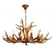 American Country Style Antler Chandeliers for Living Room Bedroom