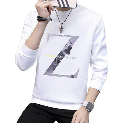 Youth Z Letter Solid Color SweatshirtMens Hoodies &amp; Sweatshirts<br>Youth Z Letter Solid Color Sweatshirt<br><br>Material: Polyester, Spandex<br>Package Contents: 1XSweatshirt<br>Shirt Length: Regular<br>Sleeve Length: Full<br>Style: Casual<br>Weight: 0.4000kg