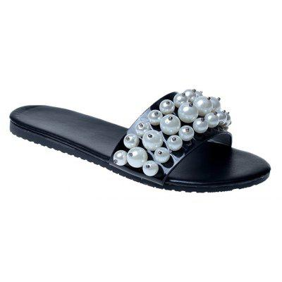 TY-805 Pearl Dew Toe Flat Bottom Antiskid Slippers