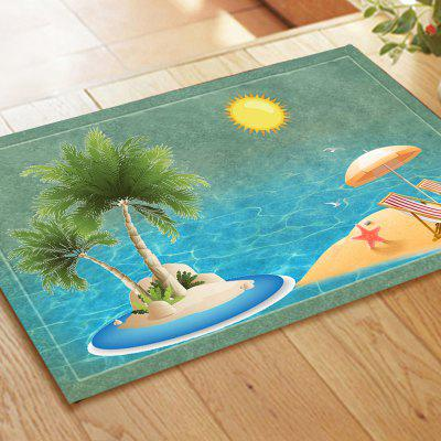 Summer Beach Holiday Resort Carpet PadsCarpets &amp; Rugs<br>Summer Beach Holiday Resort Carpet Pads<br><br>Material: Flannel<br>Package Contents: 1 xDoormat<br>Package size (L x W x H): 10.00 x 10.00 x 40.00 cm / 3.94 x 3.94 x 15.75 inches<br>Package weight: 0.2000 kg<br>Product weight: 0.1800 kg<br>Shape: Rectangle<br>Suitable Place: Outdoor,Living Room,Kitchen Room,Bathroom,Bedroom,Dining Room,Office,Kids Room,Study Room,Balcony<br>Type: Retro, Modern / Comtemporary, European, Contemporary, Ethnic, Archaistic