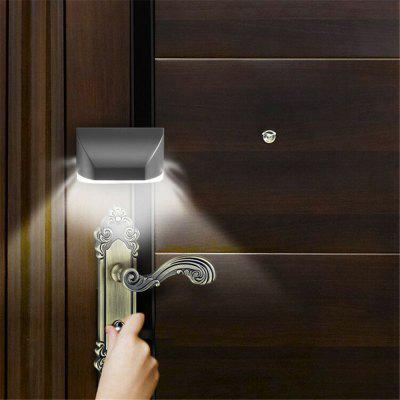 Intelligent Door Lock Induction Keyhole IR Motion Sensor Heat Detector Lamp Night Light