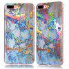 Fashion Color Plated Marble Phone Case For iPhone 7 Plus Case Cover Luxurious Soft TPU Full 360 Protection Phone Bag - GOLDEN