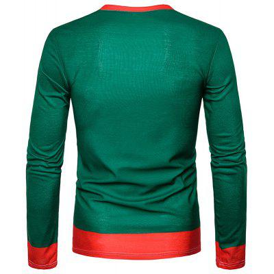 New Men 3D Elk and Christmas Tree Printed Long Sleeved T-ShirtsMens Long Sleeves Tees<br>New Men 3D Elk and Christmas Tree Printed Long Sleeved T-Shirts<br><br>Collar: Round Neck<br>Material: Polyester<br>Package Contents: 1 xT-shirt<br>Pattern Type: Others<br>Sleeve Length: Full<br>Style: Casual<br>Weight: 0.2500kg