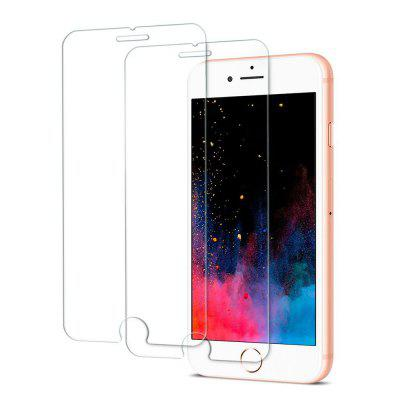 2PCS Screen Protector for Iphone 8/7 HD Full Coverage High Clear Premium Tempered Glass