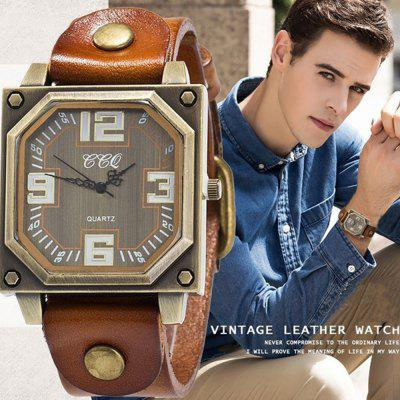 New Men Specially Brand Classic Analog Military Simple Quartz Wrist WatchesMens Watches<br>New Men Specially Brand Classic Analog Military Simple Quartz Wrist Watches<br><br>Available Color: Black,White,Red,Purple,Brown,Orange<br>Band material: Cow leather<br>Band size: 2.0<br>Case material: Alloy<br>Clasp type: Pin buckle<br>Dial size: 4.2<br>Display type: Analog<br>Movement type: Quartz watch<br>Package Contents: 1 x Watch, 1 x Box<br>Package size (L x W x H): 8.50 x 8.50 x 6.00 cm / 3.35 x 3.35 x 2.36 inches<br>Package weight: 0.0700 kg<br>Product size (L x W x H): 23.00 x 4.20 x 1.10 cm / 9.06 x 1.65 x 0.43 inches<br>Product weight: 0.0450 kg<br>Shape of the dial: Rectangle<br>Watch mirror: Mineral glass<br>Watch style: Outdoor Sports, Casual, Retro, Fashion<br>Watches categories: Men<br>Water resistance: Life water resistant<br>Wearable length: 23