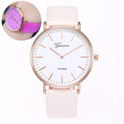 New Fashion Discolor in The Sunshine Quartz Watch Personality Wrist Watch