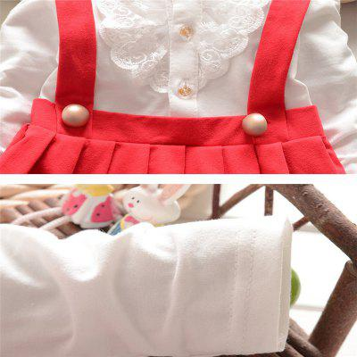 Girls Cotton Gauze Dress Stitching False Two Large Buttons-MGTD040baby dresses<br>Girls Cotton Gauze Dress Stitching False Two Large Buttons-MGTD040<br><br>Dresses Length: Knee-Length<br>Elasticity: Elastic<br>Embellishment: Button<br>Material: Cotton, Cotton Blend<br>Neckline: Turn-down Collar<br>Package Contents: 1*Mini Dress<br>Pattern Type: Solid<br>Season: Spring, Fall, Summer<br>Silhouette: Ball Gown<br>Sleeve Length: Long Sleeves<br>Style: British<br>Weight: 0.1000kg<br>With Belt: No