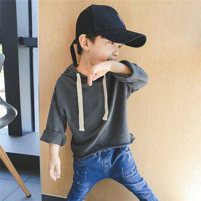 ChildrenS New Pure Color Hooded HoodieBoys Tops &amp; T-shirts<br>ChildrenS New Pure Color Hooded Hoodie<br><br>Collar: Hooded<br>Embellishment: Vintage<br>Material: Cotton, Cotton Blends<br>Package Contents: 1x Coat<br>Pattern Type: Solid<br>Sleeve Length: Full<br>Style: Casual<br>Weight: 0.1000kg