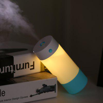 LED Light Mini Portable USB Mini Humidifier Cool Mist Air Purifier for Bedroom