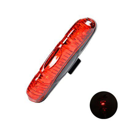 LEADBIKE Waterproof Bike Rear Light Cycling Safety Warning Lamp Bicycle Taillight