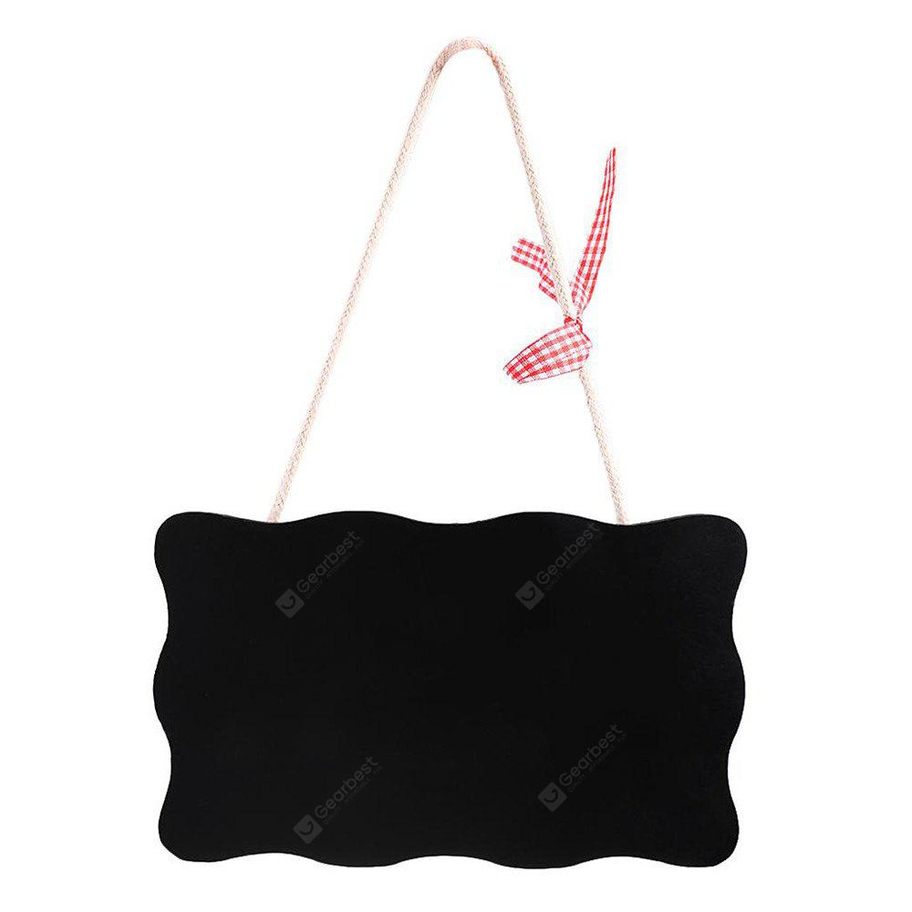 150102 Double-Sided Blackboard Listing, Small Blackboard Mini Home Decoration Welcome Door (1 Clothes)