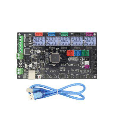 MKS Gen V1.4 3D Printer Kit with MKS Gen V1.4 RepRap Board +5PCSTMC2208 V1.0 Stepstick Driver