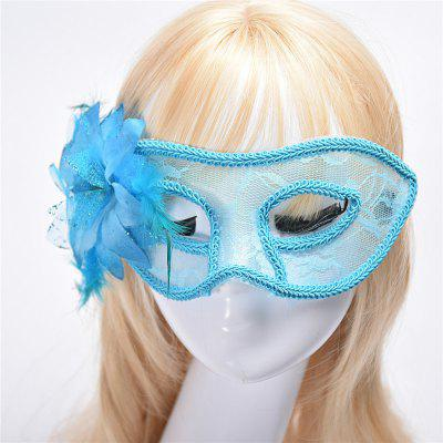 Buy Fashion Sexy Mask Venetian Ball Masquerade Masks Festive Party Supplies BLUE for $2.38 in GearBest store