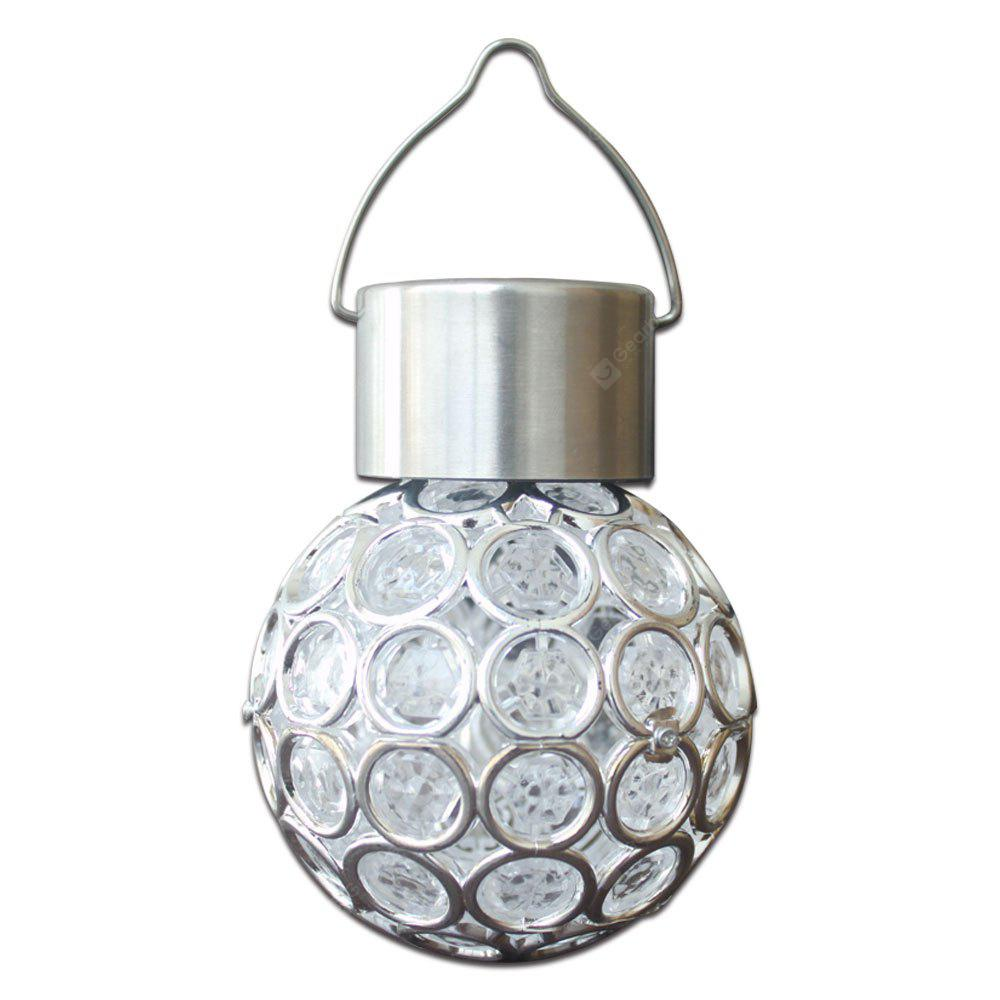 1PC Fashion Creative Small Chandelier Waterproof Seven Color LED Solar Lamp Light Control Induction for Lawn Courtyard