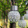 1PC Fashion Creative Small Chandelier Waterproof Seven Color LED Solar Lamp Light Control Induction for Lawn Courtyard - RGB