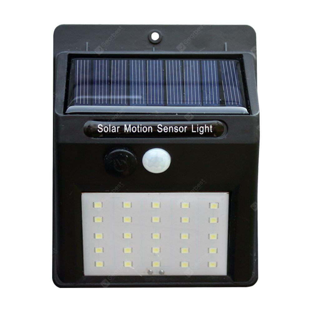 1PC Super Bright Home Courtyard LED Wall Light Solar Lamp