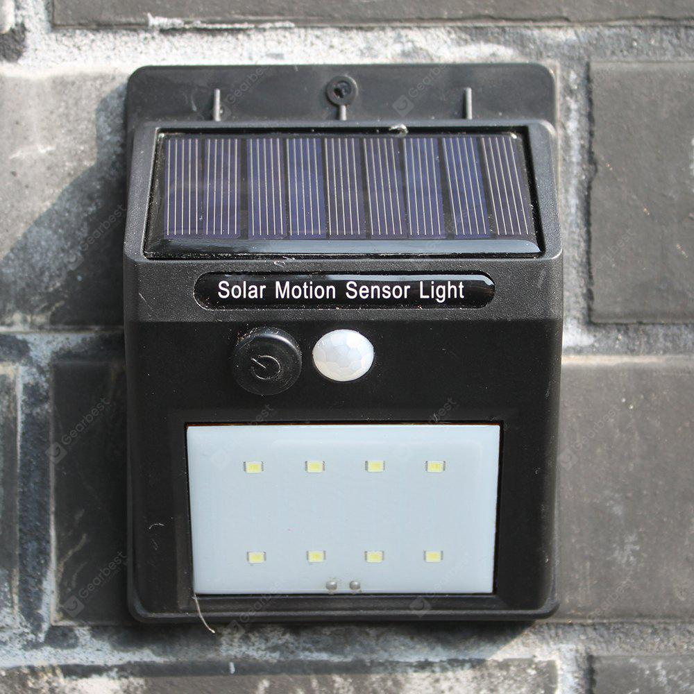 1PC Solar Lamp Ultra Bright Human Induction Household Courtyard LED Wall Light