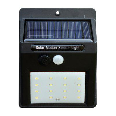 1PCS LED Ultra Bright Body Induction Home Courtyard Solar Wall Lamp