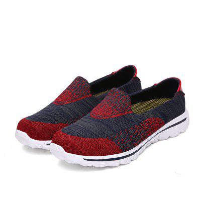 Men Fashion Casual Flying Slacker Shoes Air Flow Single ShoesFlats &amp; Loafers<br>Men Fashion Casual Flying Slacker Shoes Air Flow Single Shoes<br><br>Available Size: 39 40 41 42 43 44<br>Closure Type: Slip-On<br>Embellishment: None<br>Gender: For Men<br>Insole Material: PVC<br>Lining Material: Synthetic<br>Occasion: Casual<br>Outsole Material: Rubber<br>Package Contents: 1 x Shoes (pair)<br>Pattern Type: Others<br>Season: Spring/Fall, Summer, Winter<br>Shoe Width: Medium(B/M)<br>Toe Shape: Round Toe<br>Toe Style: Closed Toe<br>Upper Material: Synthetic<br>Weight: 1.4400kg