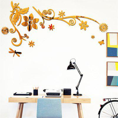 DIY Creative Acrylic Wall Stickers Crystal Three - Dimensional Porch Living Room TV Background Wall Stickers Classical FWall Stickers<br>DIY Creative Acrylic Wall Stickers Crystal Three - Dimensional Porch Living Room TV Background Wall Stickers Classical F<br><br>Art Style: Plane Wall Stickers<br>Color Scheme: Solid Color<br>Function: 3D Effect, Decorative Wall Sticker<br>Material: Acrylic<br>Package Contents: 1 x Wall Sticker<br>Package size (L x W x H): 30.00 x 30.00 x 3.00 cm / 11.81 x 11.81 x 1.18 inches<br>Package weight: 0.7000 kg<br>Product weight: 0.5000 kg<br>Quantity: 1<br>Sizes: Others<br>Subjects: Fashion,Leisure,Botanical,3D<br>Suitable Space: Living Room,Bedroom,Dining Room,Office,Cafes,Kids Room,Study Room / Office<br>Type: 3D Wall Sticker, Plane Wall Sticker