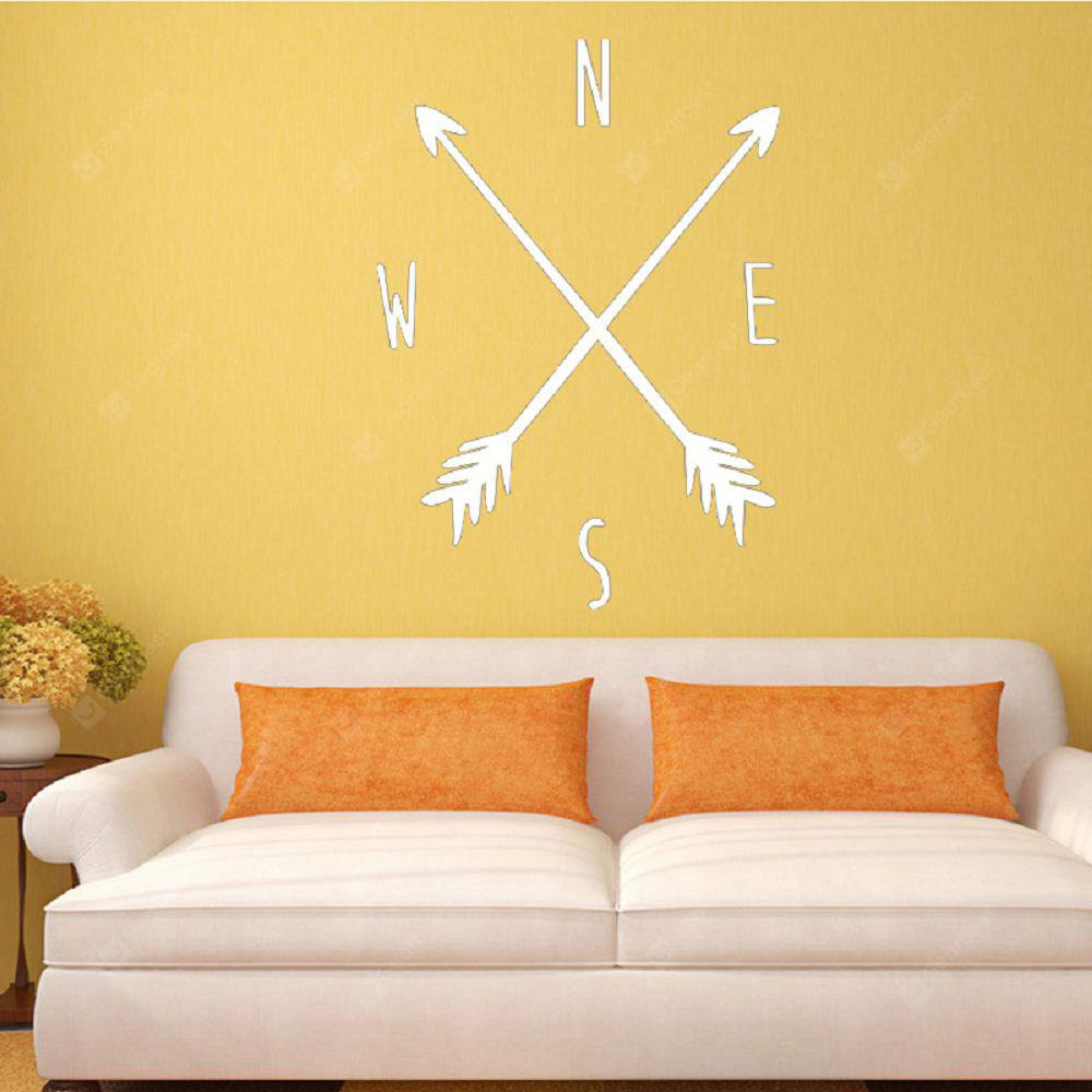 DSU Tribal Arrow Compass Wall Decal Removable Vinyl Wall Sticker for ...