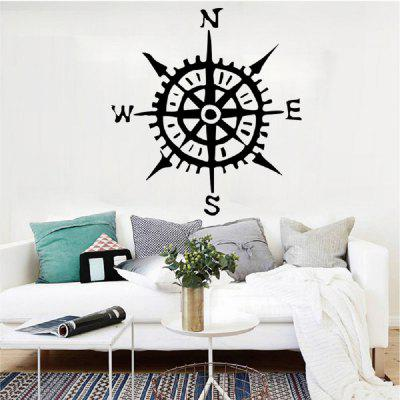DSU Compass Pattern Wall Sticker Children Living Room Bedroom Early Education Center Decoration Wall DecalWall Stickers<br>DSU Compass Pattern Wall Sticker Children Living Room Bedroom Early Education Center Decoration Wall Decal<br><br>Art Style: Plane Wall Stickers, Toilet Stickers<br>Artists: Others<br>Brand: DSU<br>Color Scheme: Black<br>Effect Size (L x W): 63.1 x 58 cm<br>Function: Decorative Wall Sticker<br>Layout Size (L x W): 63.1 x 58 cm<br>Material: Vinyl(PVC)<br>Package Contents: 1 x Wall Sticker<br>Package size (L x W x H): 60.00 x 5.00 x 5.00 cm / 23.62 x 1.97 x 1.97 inches<br>Package weight: 0.1000 kg<br>Product size (L x W x H): 63.10 x 58.00 x 0.01 cm / 24.84 x 22.83 x 0 inches<br>Product weight: 0.0500 kg<br>Quantity: 1<br>Subjects: Fashion,Letter,Cute,Cartoon,Famous,Game<br>Suitable Space: Living Room,Bedroom,Hotel,Kids Room,Entry,Kitchen,Pathway,Door,Corridor,Hallway,Boys Room,Game Room<br>Type: Plane Wall Sticker