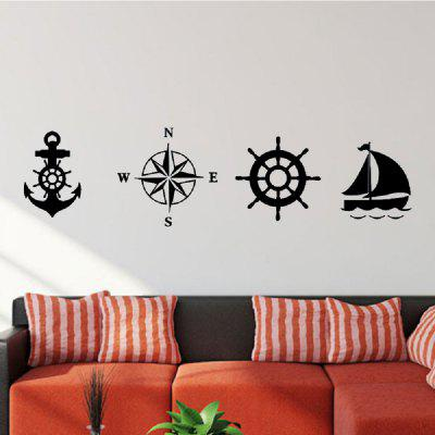 DSU Diamond Embroidery Anchor Compass Rudder Sailboat Nautical Wall Stickers Home Decor Living Room Vinyl DIY OrnamentatWall Stickers<br>DSU Diamond Embroidery Anchor Compass Rudder Sailboat Nautical Wall Stickers Home Decor Living Room Vinyl DIY Ornamentat<br><br>Art Style: Plane Wall Stickers, Toilet Stickers<br>Artists: Others<br>Brand: DSU<br>Color Scheme: Black<br>Effect Size (L x W): 60 x 58 cm<br>Function: Decorative Wall Sticker<br>Layout Size (L x W): 60 x 58 cm<br>Material: Vinyl(PVC)<br>Package Contents: 1 x Wall Sticker<br>Package size (L x W x H): 60.00 x 5.00 x 5.00 cm / 23.62 x 1.97 x 1.97 inches<br>Package weight: 0.1000 kg<br>Product size (L x W x H): 60.00 x 58.00 x 0.01 cm / 23.62 x 22.83 x 0 inches<br>Product weight: 0.0500 kg<br>Quantity: 1<br>Subjects: Fashion,Letter,Cute,Cartoon,Famous,Game<br>Suitable Space: Living Room,Bedroom,Hotel,Kids Room,Entry,Kitchen,Pathway,Door,Corridor,Hallway,Boys Room,Game Room<br>Type: Plane Wall Sticker