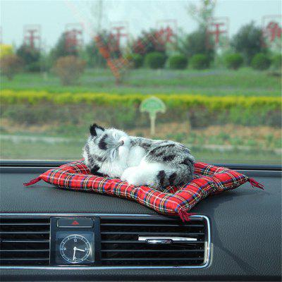 Creative Air Freshener Cute Car Purifiers Simulation Dog Solid Charcoal Bag for Household Deodorant