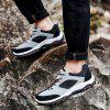 Men Casual Breathable Athletic Outdoor Hiking Shoes - GRAY