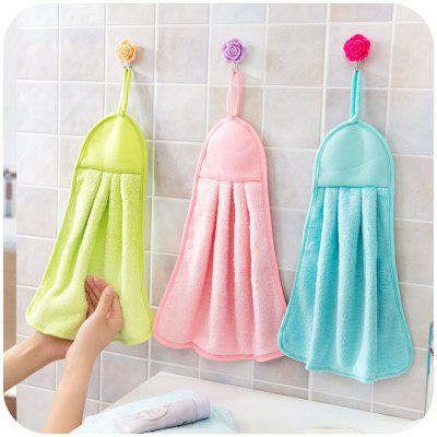Kitchen Towel Hanging Coral Fleece Super Absorbent Hair Oil Cloth Washing Cloth Hand Towel Soft Children&amp;#39;s Hanging Bath Face Wipe TowelHome Gadgets<br>Kitchen Towel Hanging Coral Fleece Super Absorbent Hair Oil Cloth Washing Cloth Hand Towel Soft Children&amp;#39;s Hanging Bath Face Wipe Towel<br>