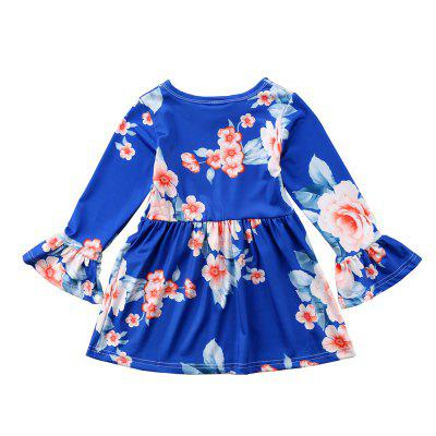 New Spring Autumn Girl Dress Fashion Speaker Long Sleeves ChildrenS Skirts Girl ColthesGirls dresses<br>New Spring Autumn Girl Dress Fashion Speaker Long Sleeves ChildrenS Skirts Girl Colthes<br><br>Dresses Length: Knee-Length<br>Elasticity: Micro-elastic<br>Fabric Type: Broadcloth<br>Material: Cotton, Lycra<br>Neckline: Round Collar<br>Package Contents: 1 x Girl Dress<br>Pattern Type: Floral<br>Season: Summer, Fall, Spring<br>Silhouette: A-Line<br>Sleeve Length: Long Sleeves<br>Sleeve Type: Flare Sleeve<br>Style: Fashion<br>Waist: Natural<br>Weight: 0.2500kg<br>With Belt: No