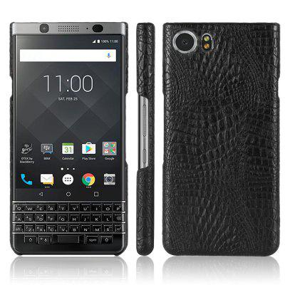 Custodia Cover per Blackberry Keyone Ultra Slim Source Premium Cuoio in coccodrillo con texture rigida Cover posteriore antiscivolo