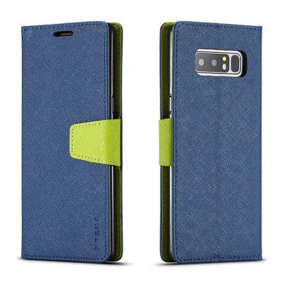 MUXMA Cover Case for Samsung Galaxy Note 8 Retro Twill LeatherSamsung Note Series<br>MUXMA Cover Case for Samsung Galaxy Note 8 Retro Twill Leather<br><br>Compatible for Samsung: Samsung Galaxy Note 8<br>Features: Full Body Cases, Cases with Stand, With Credit Card Holder, Anti-knock, Dirt-resistant<br>For: Samsung Mobile Phone<br>Material: TPU, PU Leather<br>Package Contents: 1 x Phone Case<br>Package size (L x W x H): 20.00 x 10.00 x 2.00 cm / 7.87 x 3.94 x 0.79 inches<br>Package weight: 0.0520 kg<br>Product weight: 0.0450 kg<br>Style: Vintage, Stripe Pattern