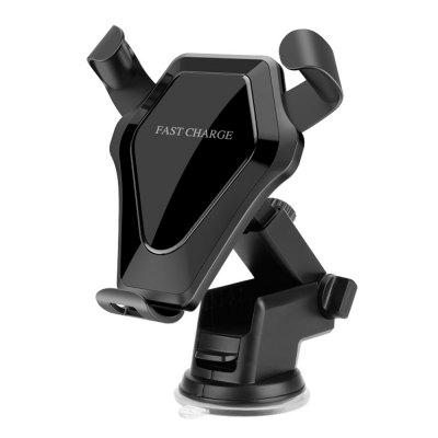 Qi Wireless Fast Charger Car Air Vent Holder for iPhone X / 8 / 8 Plus Samsung Galaxy S8 / S6 / S7 Edge Note 8