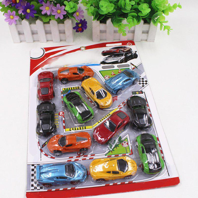 Simulation Car Toy Combination Package for Kids 12PCS