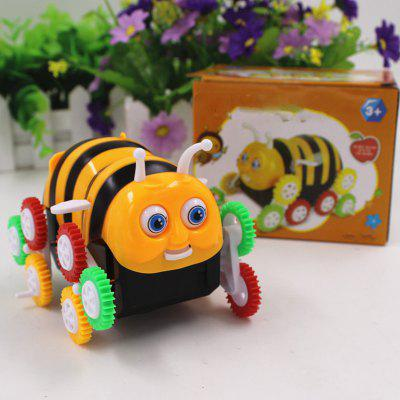 Bee Dumpers Electric DIY Toy Automatic Turning Children Toy Car