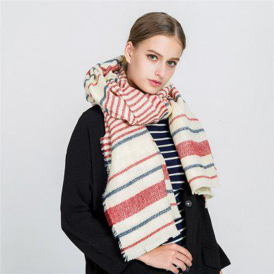 M1707 Bar Warm Cashmere ScarvesWomens Scarves<br>M1707 Bar Warm Cashmere Scarves<br><br>Elasticity: Elastic<br>Gender: For Women<br>Group: Adult<br>Material: Acrylic<br>Package Contents: 1 x scarf<br>Package size (L x W x H): 1.00 x 1.00 x 1.00 cm / 0.39 x 0.39 x 0.39 inches<br>Package weight: 0.3050 kg<br>Product weight: 0.3050 kg<br>Scarf Type: Scarf<br>Season: Winter, Fall, Spring<br>Style: Fashion