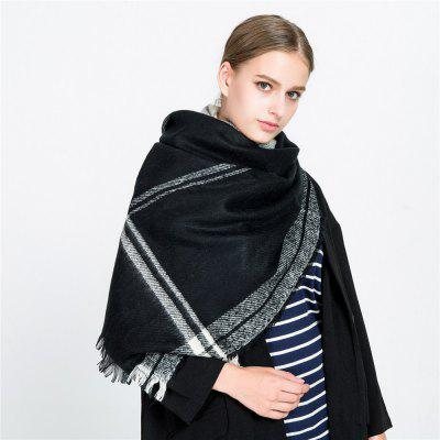M1711 Cashmere Warm Tassel Color Striped Lattice ScarfWomens Scarves<br>M1711 Cashmere Warm Tassel Color Striped Lattice Scarf<br><br>Elasticity: Elastic<br>Gender: For Women<br>Group: Adult<br>Material: Acrylic<br>Package Contents: 1 x scarf<br>Package size (L x W x H): 1.00 x 1.00 x 1.00 cm / 0.39 x 0.39 x 0.39 inches<br>Package weight: 0.2250 kg<br>Product weight: 0.2250 kg<br>Scarf Type: Scarf<br>Season: Winter, Fall, Spring<br>Style: Fashion