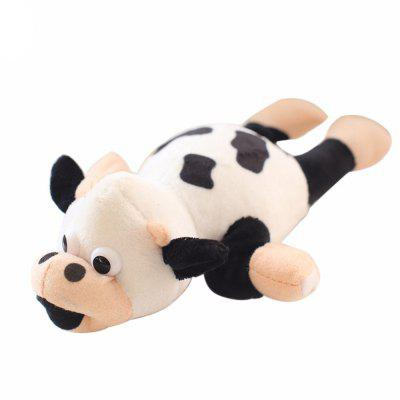 New Funny Paw Toys Lovely Novelty Flying Cow Screaming Slingshot Plush Toys Kids Gift