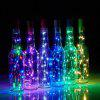 BRELONG 20LED Wine Stopper Brass Lights Decorative Light String - COLORFUL