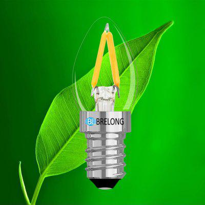 BRELONG 2W LED Filament Bulb  E14 220V 1PCSGlobe bulbs<br>BRELONG 2W LED Filament Bulb  E14 220V 1PCS<br><br>Brand: BRELONG<br>Color Temperature or Wavelength: 3000-3500k  6000-6500k  615-630nm<br>Connection: E14<br>Dimmable: No<br>Features: Light Control<br>Initial Lumens ( lm ): 120<br>LED Beam Angle: 360 Degree<br>Lifetime ( h ): More Than  30000<br>Material: Glass<br>Package Contents: 1 x Filament Bulb<br>Package size (L x W x H): 6.50 x 2.50 x 2.50 cm / 2.56 x 0.98 x 0.98 inches<br>Package weight: 0.0080 kg<br>Primary Application: Home,Living Room,Living Room or Dining Room,Residential<br>Product size (L x W x H): 6.00 x 2.30 x 2.30 cm / 2.36 x 0.91 x 0.91 inches<br>Product weight: 0.0070 kg<br>Type: LED Filament Bulbs<br>Voltage: AC 220<br>Wattage: 2W