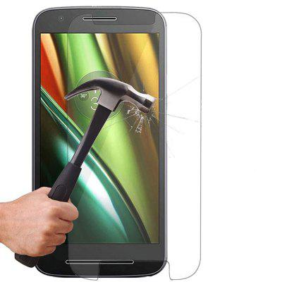 2PCS Screen Protector for MOTO E 3RD HD Full Coverage High Clear Premium Tempered Glass