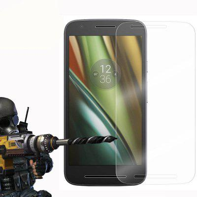 2PCS Screen Protector for MOTO E3 HD Full Coverage High Clear Premium Tempered Glass