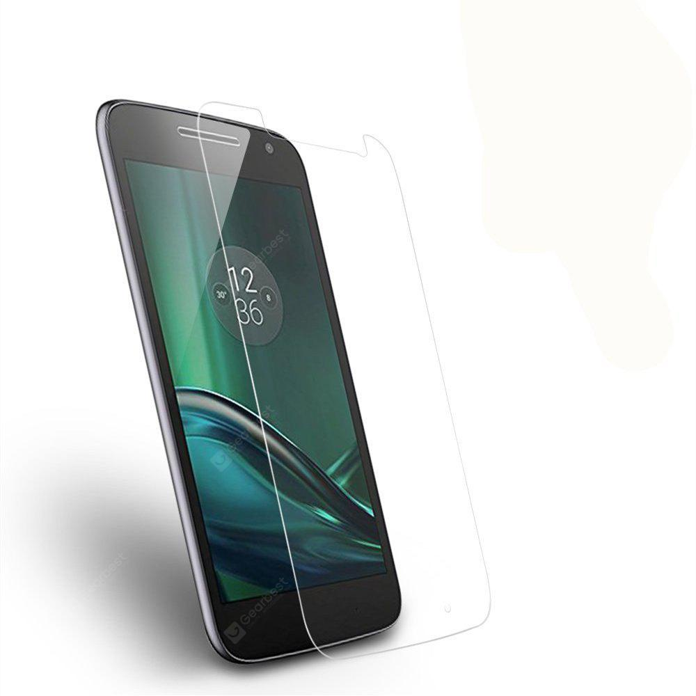 2PCS Screen Protector for MOTO G4 HD Full Coverage High Clear Premium Tempered Glass