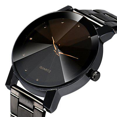 Men Quartz Stainless Steel Band Business WatchMens Watches<br>Men Quartz Stainless Steel Band Business Watch<br><br>Available Color: Silver,Black<br>Band material: Stainless Steel<br>Band size: 2.1<br>Case material: Alloy<br>Clasp type: Sheet folding clasp<br>Dial size: 4.0<br>Display type: Analog<br>Movement type: Quartz watch<br>Package Contents: 1 x Watch, 1 x Box<br>Package size (L x W x H): 8.50 x 8.50 x 6.00 cm / 3.35 x 3.35 x 2.36 inches<br>Package weight: 0.0700 kg<br>Product size (L x W x H): 20.00 x 4.00 x 0.80 cm / 7.87 x 1.57 x 0.31 inches<br>Product weight: 0.0400 kg<br>Shape of the dial: Round<br>Watch mirror: Mineral glass<br>Watch style: Casual, Trends in outdoor sports, Fashion<br>Watches categories: Men<br>Water resistance: Life water resistant<br>Wearable length: 20