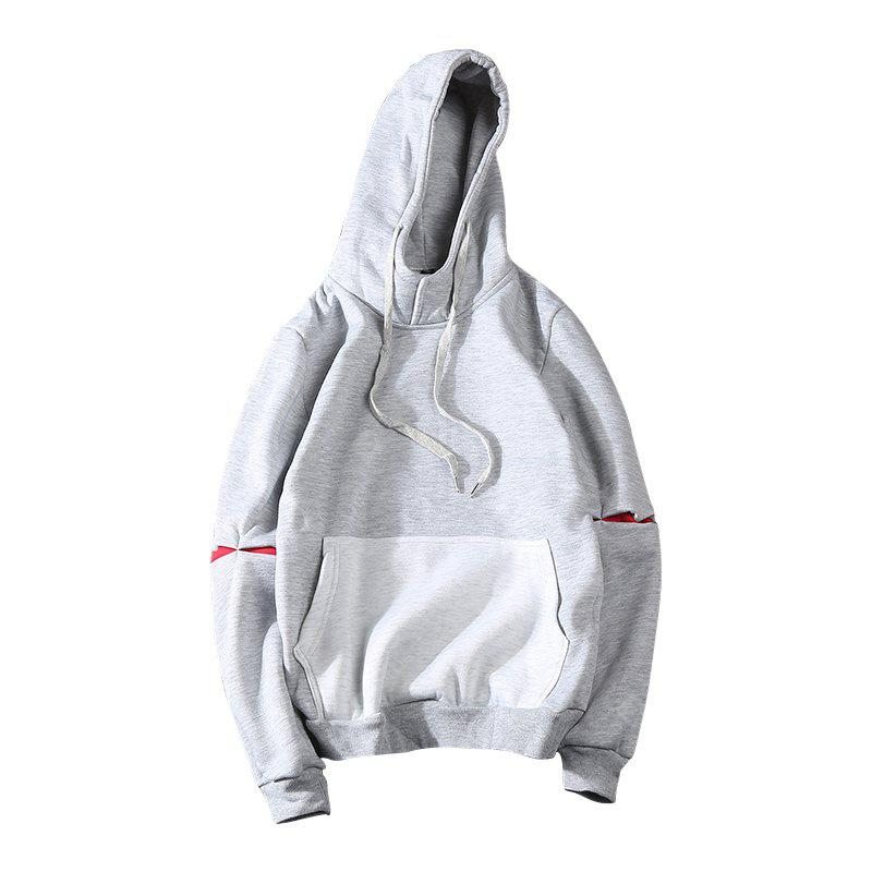 Fall Fashion Color Long Sleeved Hoodie