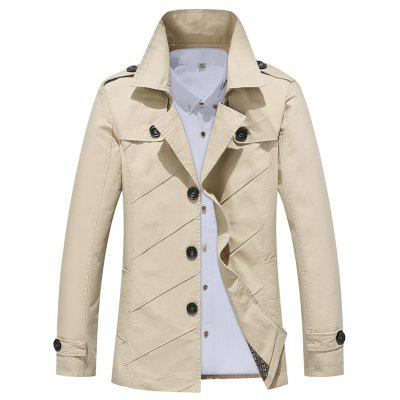 Autumn Fashion Business Casual Jacket Trench Coat