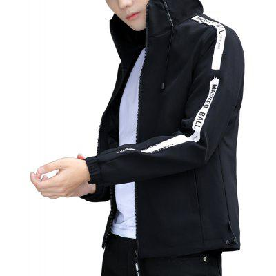 Fashion Autumn Hooded Jacket Casual All-Match Coat