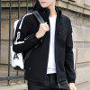 Fashion Autumn Hooded Jacket Casual All-Match Coat - BLACK