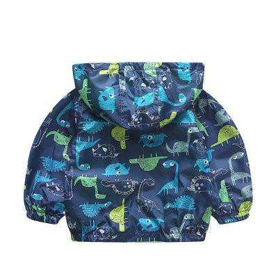 Childrens New Hat Long Sleeve Cartoon Dinosaur JacketBoys Outerwear<br>Childrens New Hat Long Sleeve Cartoon Dinosaur Jacket<br><br>Closure Type: Zipper<br>Clothes Type: Jackets<br>Collar: Hooded<br>Material: Cotton, Cotton Blends<br>Package Contents: 1 x Coat<br>Pattern Type: Character<br>Season: Spring<br>Shirt Length: Regular<br>Sleeve Length: Long Sleeves<br>Sleeve Style: Regular<br>Style: Fashion<br>Suitable Age: 4-6 years old,8 years old up,6 years old up,2-7 years old<br>Weight: 0.2000kg